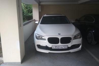 Аренда BMW7 с водителем в Краснодаре