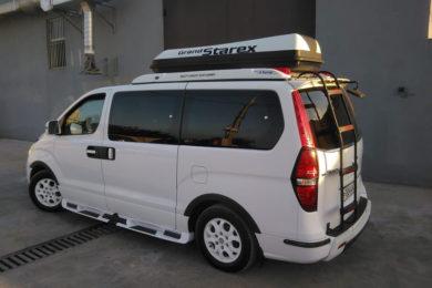Аренда минивена Hyundai Starex с водителем