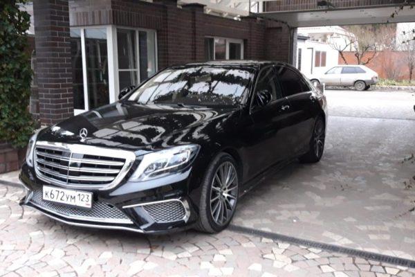 Аренда авто с водителем Mercedes Benz S 222